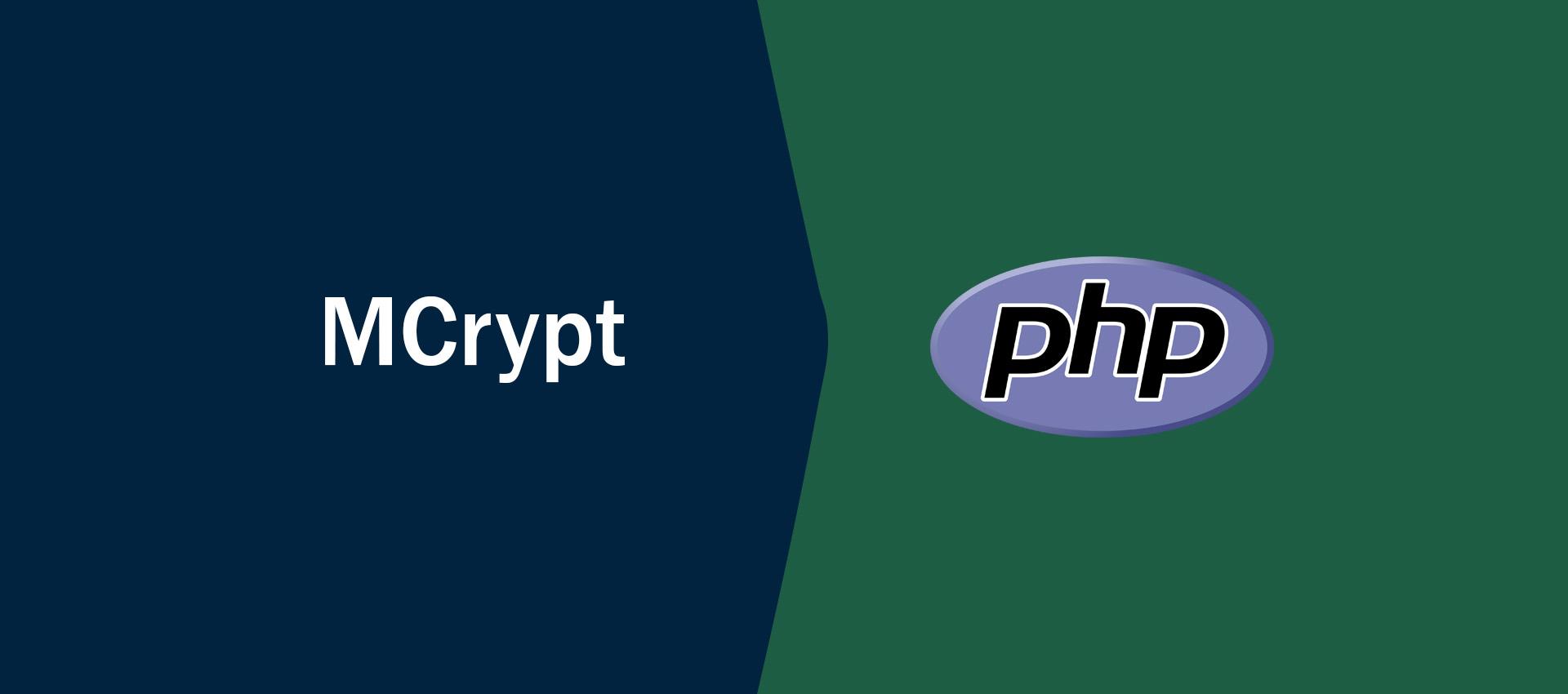 php mcrypt